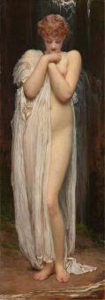 Crenaia, la nymphe de la rivière Dargle, Frederic Leighton (vers 1880)