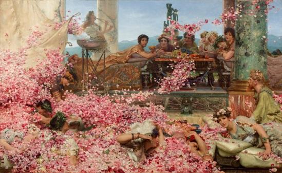 Les roses d'Héliogabale, Sir Lawrence Alma-Tadema (1836-1912)