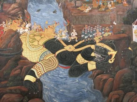 La galerie du Ramakian