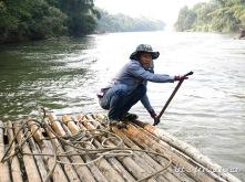 Balade en radeau sur la rivière Kwai