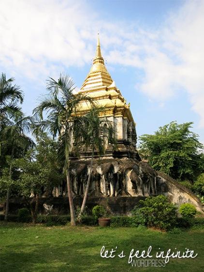 Wat Chiang Man - Chedi Chang Lom, the Elephant Chedi
