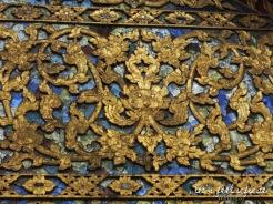 Wat Chiang Man - Décoration sculpture sur bois