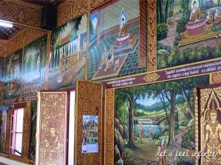 Wat Chiang Man - Peintures du Wihan Moderne