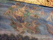 Wat Phra Singh - Peinture du Wihan Lai Kham