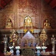 Wat Phra Singh - Intérieur du Wihan Lai Kham