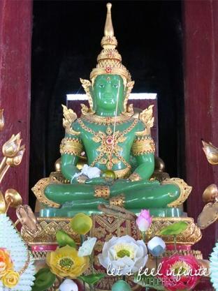 Wat Phra Singh - Bouddha de Jade à l'intérieur du bot