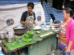 Chiang Mai Market - Khanom Krok Food Stand