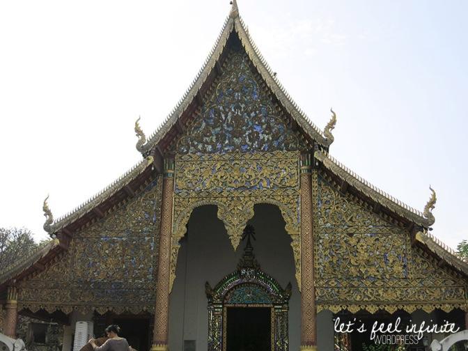 Wat Chiang Man - Façade