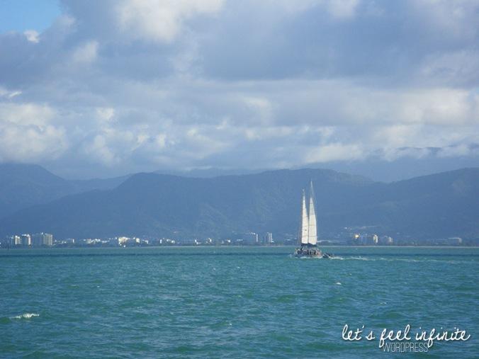 Départ de Cairns pour la Grande Barrière de Corail