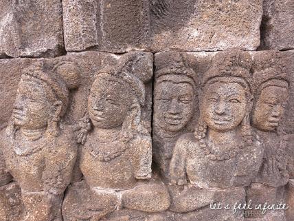 Borobudur - Bas reliefs 3