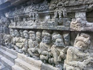 Borobudur - Bas reliefs 4