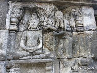 Borobudur - Bas reliefs 6