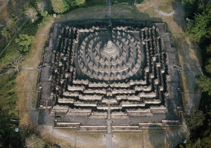 Borobudur - Sky View