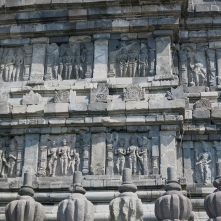 Prambanan - Bas reliefs 2