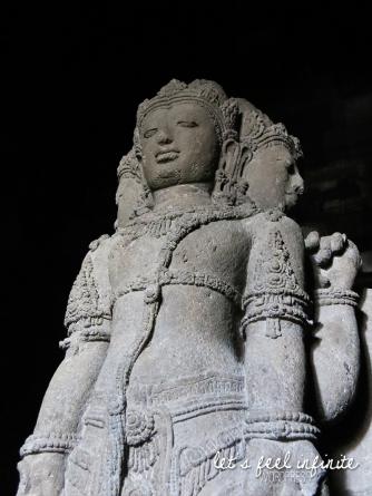 Prambanan - Statue de Brahma