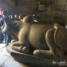 Prambanan - Taureau de Shiva