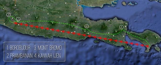 Map itinéraire à Java