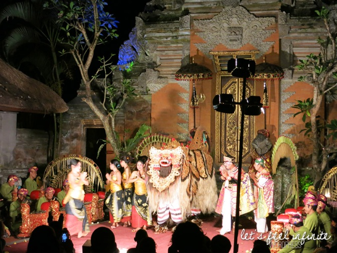 Ubud Palace - Spectacle de danse 3