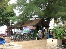 Money Changer sur l'île de Gili Air