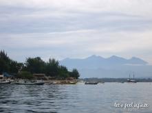 Bateaux du port de Gili Air