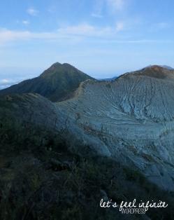 Le cratère de Kawah Ijen