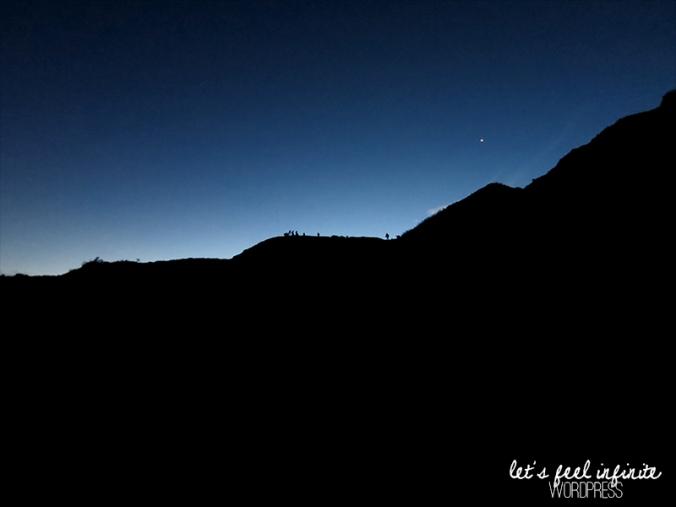 Crépuscule à Kawah Ijen