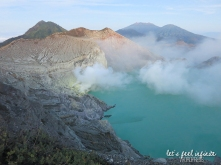 Lac acide de Kawah Ijen