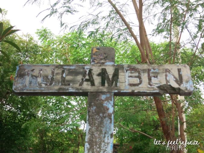 Tulamben Sign