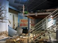 Reconstitution de l'état de Darwin après e cyclone Tracy en 1974