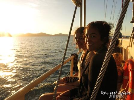 Whitsundays Cruise - Sunset 3