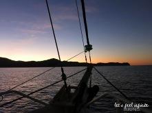 Whitsundays Cruise - Sunset