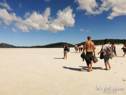 Whitsundays - Whitehaven Beach 15