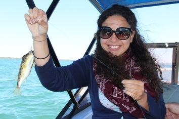 Tin Can Bay waters - Mon premier poisson
