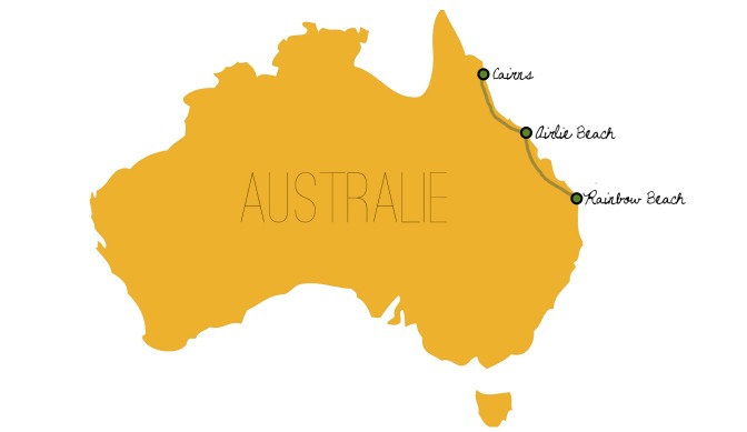 LFI Australia's Map - Rainbow Beach