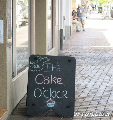 Beaudesert - It's cake o'clock