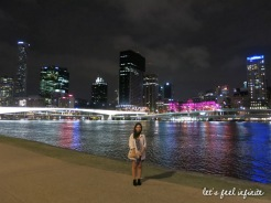 Brisbane by night 1