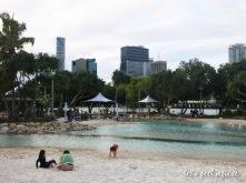 Brisbane - Southbank lagoon