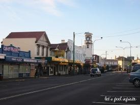 Stanthorpe, petite ville australienne de base