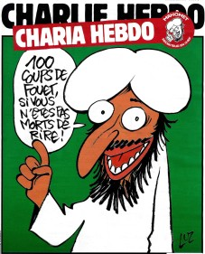 Charlie Hebdo caricature Mahomet en 2011