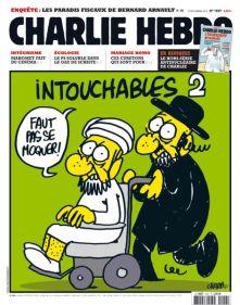 Charlie Hebdo caricature Mahomet en 2012