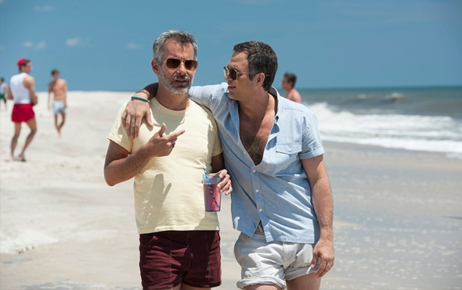 Ned and Mickey on Fire Island Pines