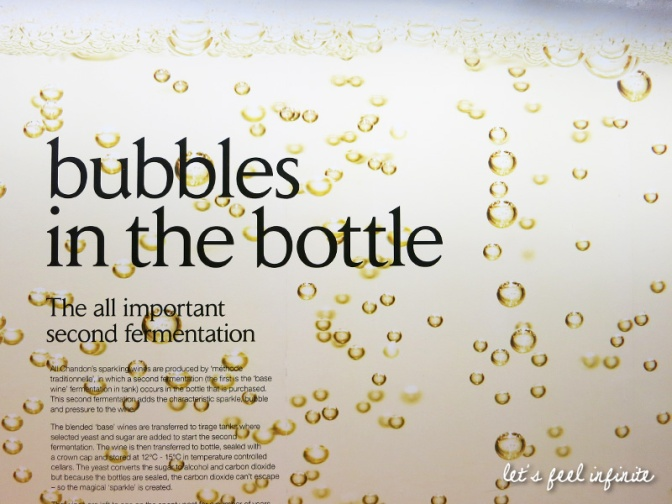 Chandon - Bubbkes in the bottle