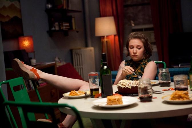 Lena Dunham dans Girls
