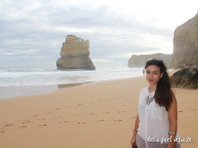 Great Ocean Road - Gibson Steps & moi