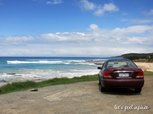 Great Ocean Road - La voiture