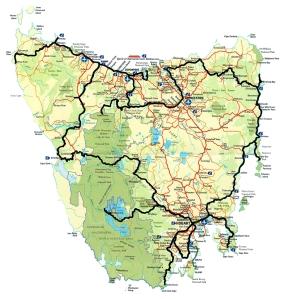 Itinéraire de mon road trip de 2 semaines en Tasmanie