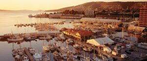 Port d'Hobart, Tasmanie, Australie