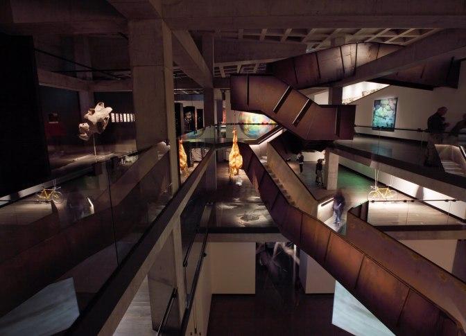 Intérieur du MONA Museum, Tasmania