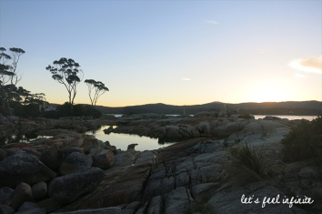 Tasmanie - Bay of fires sunset 2