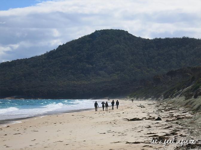 Tasmanie - Wineglass Bay Circuit - Hazards Beach